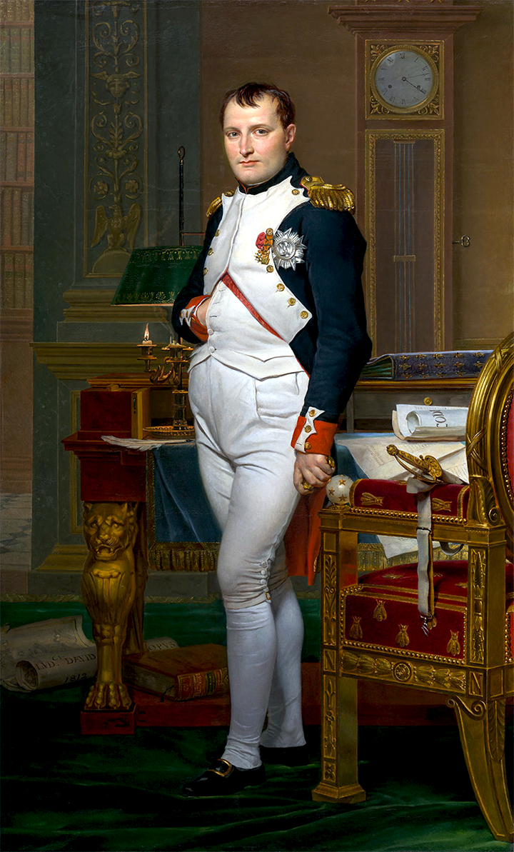 jacques-david's-napoleon-in-his-room
