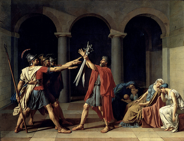 jacques-david's-oath-of-the-horatii