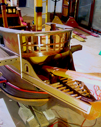 spanish-galleon-reconstruction,-by-john-rivera-resto,-2012,-detail-of-bow-reconstruction