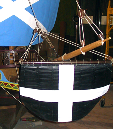 spanish-galleon-reconstruction,-by-john-rivera-resto,-2012,-detail-of-sprit-sail-rigging