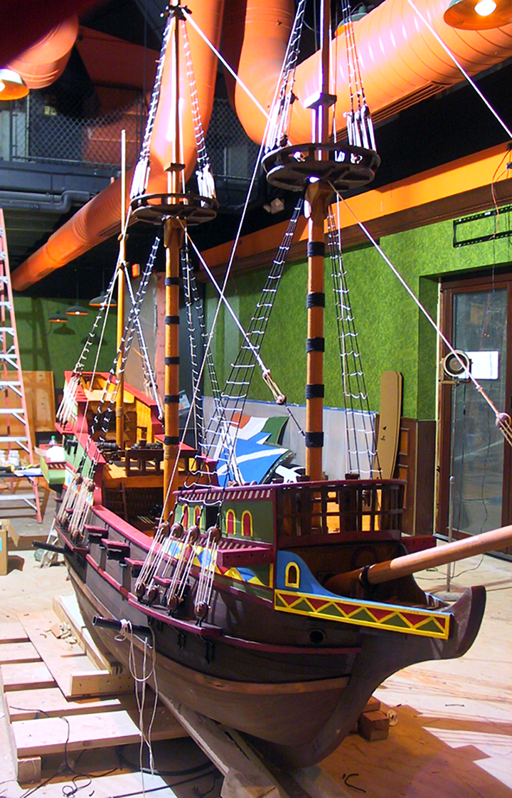 spanish-galleon-reconstruction,-by-john-rivera-resto,-2012,-finished-galleon-before-adding-sails