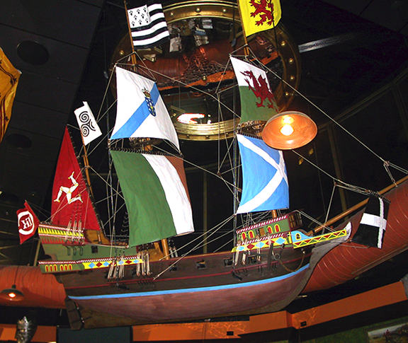 spanish-galleon-reconstruction,-by-john-rivera-resto,-2012,-finished-galleon-side-view