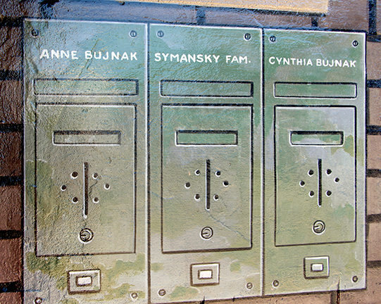 added names to mailboxes