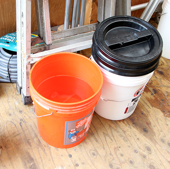 buckets for concrete mix