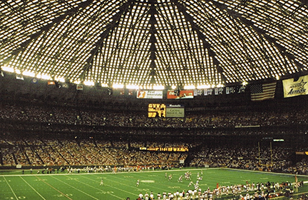 Houston Dome Stadium article about glare