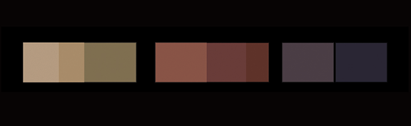 color pallete for painting flag