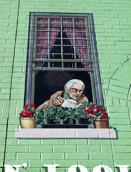 granny window completed