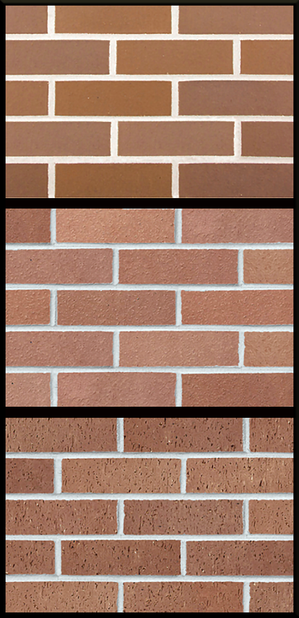 sample clay brick textures