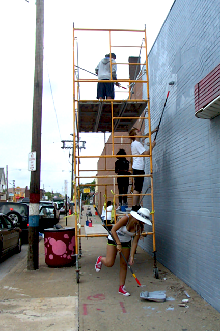 july 19, 2012, priming the brick wall