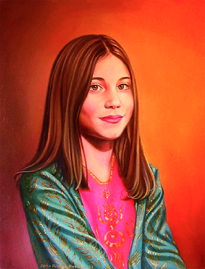 Zeda-Ergun's-daughter,-portrait-by-John-Rivera-Resto,-2002
