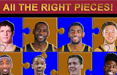 the cleveland cavaliers puzzle poster